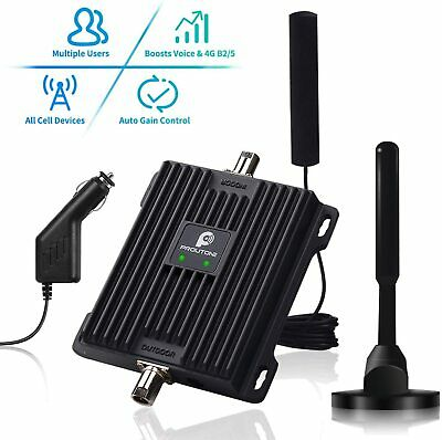 Cell Phone Signal Booster for Car Truck RV Band 121317 Vehicle Mobile Repeater