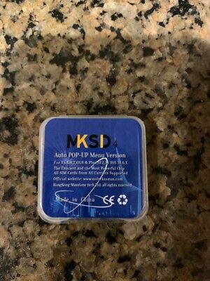 MKSD 4 CARRIER SIM UNLOCK KIT USA based FREE first class shipping