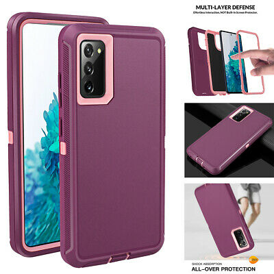 For Samsung Galaxy S20 FE 5G Case Hybrid Rubber Shockproof Heavy Duty Full Cover