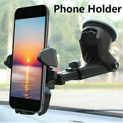 360° Car Windshield Mount Cradle Holder Stand For Mobile Cell Phone GPS iPhone