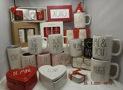 NEW Rae Dunn Artisan Valentines Day Collection - YOU CHOOSE