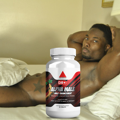 Alpha Male Testosterone Booster L Arginine Maca Ginseng Extract for Men