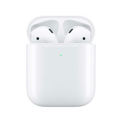 Apple Airpods 2nd Generation Bluetooth Earbud Earphones Headset W Charging Case