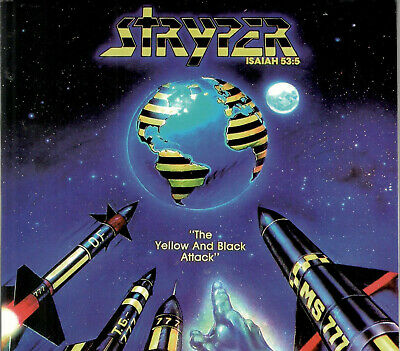 STRYPER Yellow and black attack CD