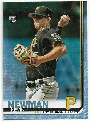 KEVIN NEWMAN 2019 TOPPS RC 471 FATHERS DAY D 0850 SP PIRATES