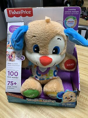 Fisher Price Laugh And Learn Puppy 6 - 36 Months Toys Educational