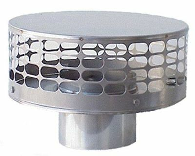 New stamp 8 Inch round Stainless Steel Liner Top Chimney Cap