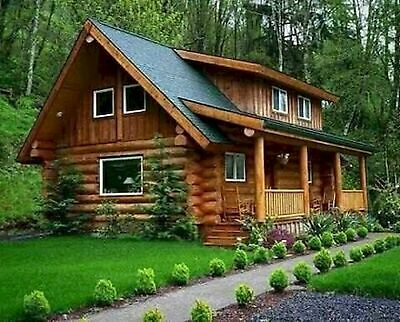 Log Cabin Kit by American Log Homes For only 30840 considerable discount