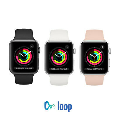 Apple Watch Series 3 Aluminum - 38mm42mm - All Colors