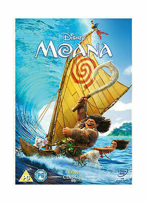 Moana DVD 2017 Brand New - Sealed FREE FIRST CLASS SHIPPING