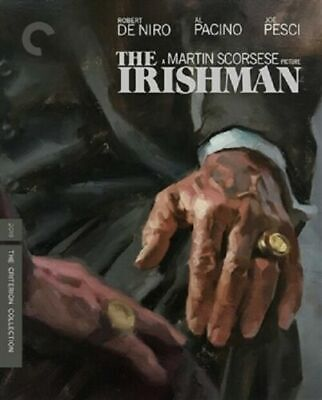 The Irishman The Criterion Collection DVD NEW FREE FIRST CLASS SHIPPING