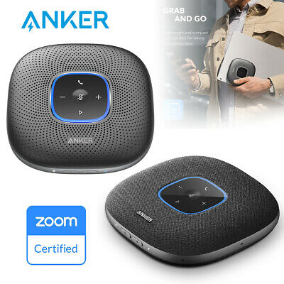 Anker Bluetooth Conference Speaker Speakerphone w 6 Mic for Home Office Meeting