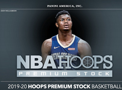 2019-2020 NBA Hoops Premium Stock Base 1-300 - Complete Your Set Rookies RC