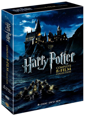 Harry Potter 1-8 The Complete 8-Film Collection DVD 2011 8-Disc Set