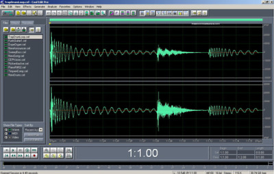 Cool Edit Pro 2-1 Multi-track Audio Editor With Additional Set of Filters