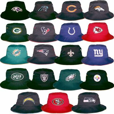 NFL Bucket Boonie Fishermans Hat Cap All 32 Football Teams We Sell Quality Hats