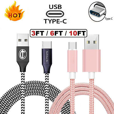 For Samsung Galaxy S20 Ultra S8 S9 S10 Note 20 10 Fast Charger USB Type C Cable