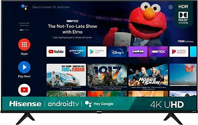Hisense 50 A6G Series 4K UHD  Dolby Vision HDR  Android Smart TV 2021 Model
