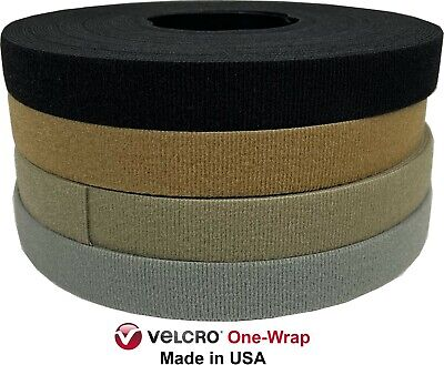 VELCRO® BRAND ONE-WRAP® TAPE 1 X 10 Ft ROLL Made in USA Berry Compliant