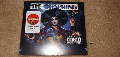 The Offspring Let The Bad Times Roll CD Target Exclusive LIMITED EDITION PATCH