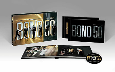 Bond 50 -Collection Five Decades of James Bond 007 DVD- 22-Disc 2012HOT