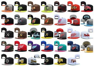 NHL Hockey Caps Hats All 32 Teams DIFFERENT STYLES PER TEAM - We Sell Quality