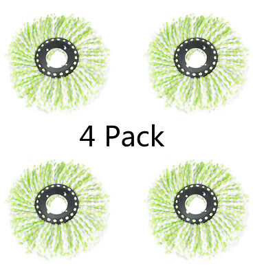 4Pack Replacement Microfiber Mop Head Refill For Spin Mop 360° new