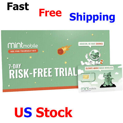 Mint Mobile Starter Kit Verify Compatibility with Our Talk Text - Data Plans SIM