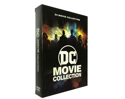 DC Movie Collection 12-Disc DVD 24-Film Collection  New