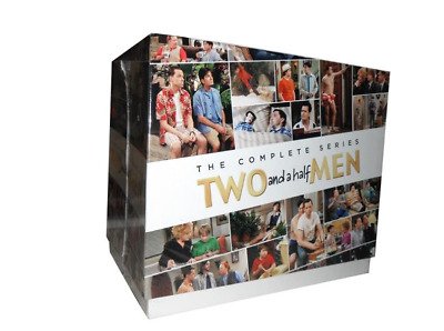 Two and a Half Men The Complete Series Season 1-12 DVD 39-Disc Box Set NEW