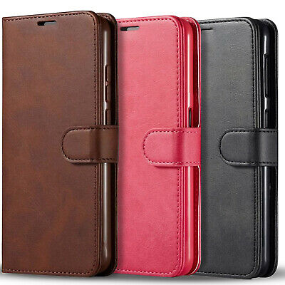 For Motorola Moto G Play 2021 Case Wallet Pouch Cover- Tempered Glass Protector
