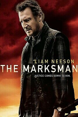 The Marksman DVD 2021 Brand New - Sealed  Liam Neeson Katheryn Winnick Free Ship