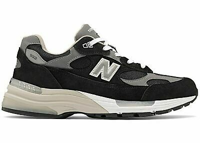 New Balance 992 Mens US Made in US Sneaker Black Suede M992EB sz 5-13