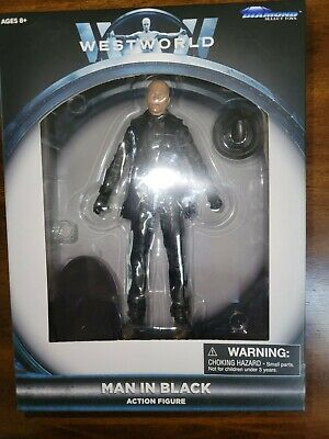 NEW HBO Westworld Man In Black Action Figure Diamond Select Toys SEALED MIB