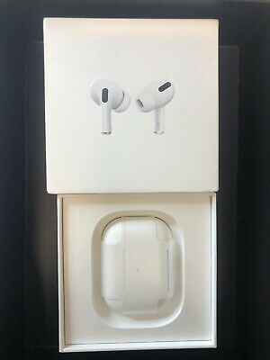 Apple AirPods Pro White In Ear Canal with Wireless Charging Case