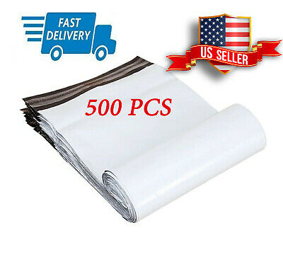 500PCs 9-5x12 Poly Mailer 2 Mil Shipping Mailing Packaging Envelope Bags 9-5x12