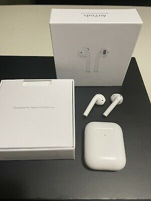 Apple AirPods 2nd Generation with Wireless Charging Case - White MRXJ2AMA