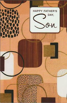 Fathers Day Greeting Card HAPPY FATHERS DAY SON