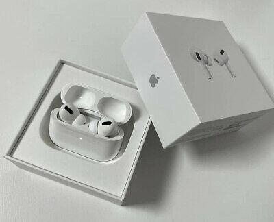 New Sealed AirPods Pro  Wireless L-R Earphones - Wireless Charging Case - Cable