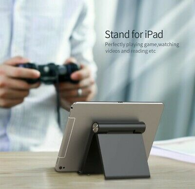 Foldable Cell Phone Desk Stand Holder Mount Cradle For iPad iPhone Free Shipping