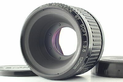 MINT SMC PENTAX 67 120mm F3-5 SOFT Focus Camera Lens For 67 67II From Japan