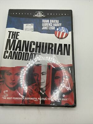 New The Manchurian Candidate DVD2004Special Edition Frank Sinatra Sealed
