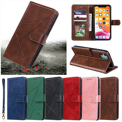 Magnetic Leather Wallet Flip Case For iPhone 12 11 Pro Max XS X XR 6 7 8 Plus SE
