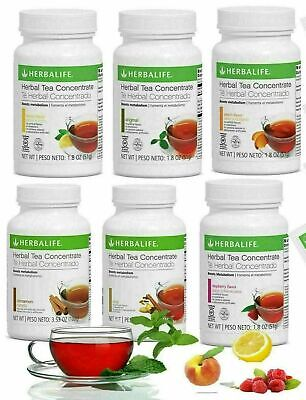 Herbalife Herbal Tea Concentrate 3-6 Oz All Flavors