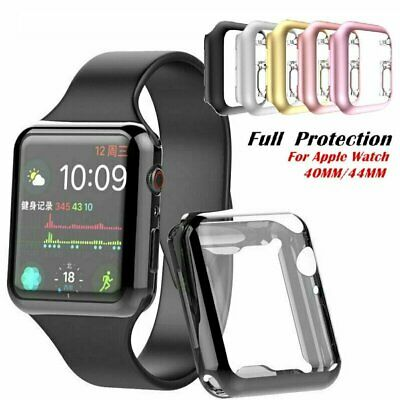 iWatch 4044mm Screen Protector Case Snap On Cover for Apple Watch SE 6 5 4