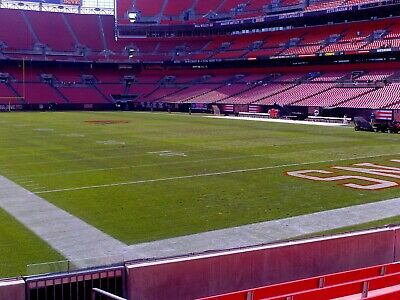 4 Cleveland Browns Football Tickets vs Houston Texans ROW 6 Lowers Home Opener