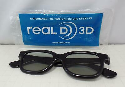 Original Real D 3D Motion Picture Glasses - NEW