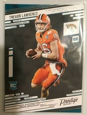 2021 Prestige Football Rookie Cards Pick From List RC First cards wTeam Logos