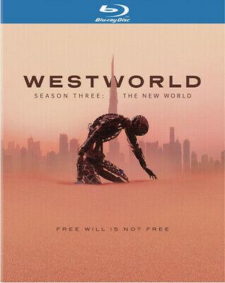 Westworld Season 3 The New World Blu-ray Brand New Sealed With Free Shipping