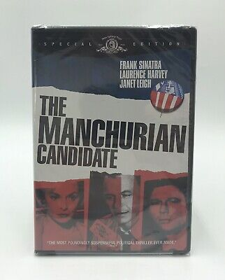 The Manchurian Candidate Special Edition DVD Frank Sinatra New Factory Sealed